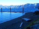 Icy Bayview Rowboat by Tamara Valjean