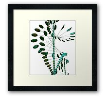 Wind Sculpture II Framed Print