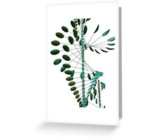 Wind Sculpture II Greeting Card