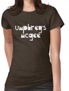 Umphrey's Mcgee Urban White Womens Fitted T-Shirt