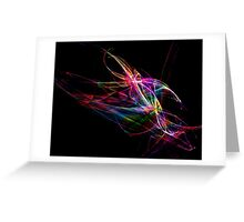 Flaming Colour-Available As Art Prints-Mugs,Cases,Duvets,T Shirts,Stickers,etc Greeting Card
