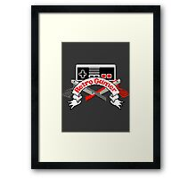Retro Gamer Framed Print