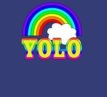 YOLO with Rainbow Tank Top