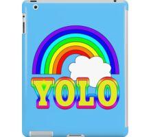 YOLO with Rainbow iPad Case/Skin