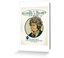Reverse the Polarity Greeting Card