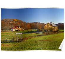 Rural Tennessee in Autumn Poster