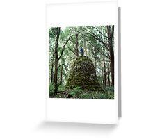 Mount Juliet Cairn, Yarra Ranges, Victoria. Greeting Card