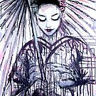 Modern Geisha by whittyart