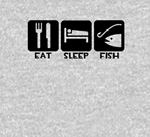 Eat, Sleep, Fish Unisex T-Shirt
