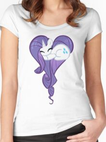 Heart Of Rarity Women's Fitted Scoop T-Shirt