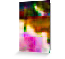 Glitch 003 Greeting Card