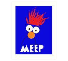 Beaker MEEP Art Print
