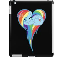 Heart Of Rainbow Dash iPad Case/Skin