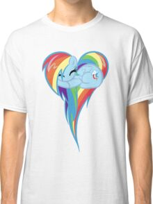 Heart Of Rainbow Dash Classic T-Shirt