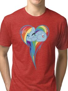 Heart Of Rainbow Dash Tri-blend T-Shirt