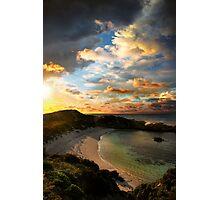 Sunset Cove Photographic Print
