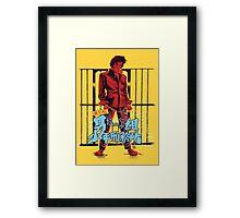 Gang Fight Framed Print