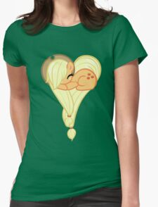 Heart Of AppleJack Womens Fitted T-Shirt