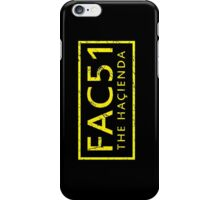 FAC51 The Hacienda iPhone Case/Skin