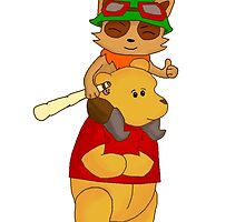 Teemo on Pooh by RBSTORESSX