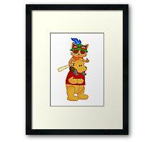 Teemo on Pooh Framed Print