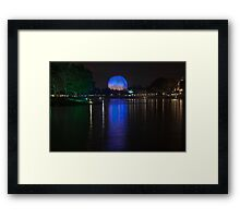 View From World Showcase  Framed Print