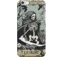 Death Card iPhone Case/Skin