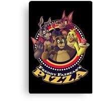Welcome To Freddy Fazbear's Pizza! Canvas Print