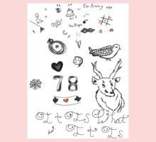 Louis Tattoos Kids Tee
