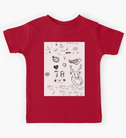 Louis Tattoos Kids Tee