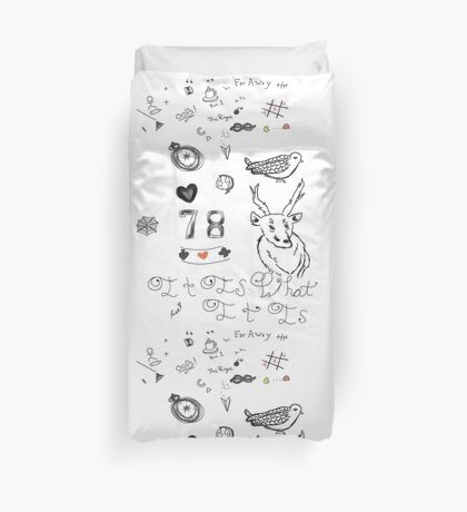 Louis Tattoos Duvet Cover