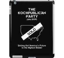 Kochpublican Party iPad Case/Skin