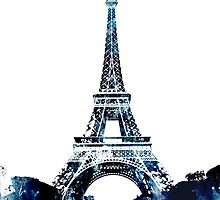 Eiffel Tower Paris France 1889 by Patricia Lintner