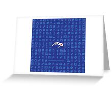 Icons - Shirt and more! Greeting Card