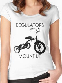 REGULATORS MOUNT UP  Women's Fitted Scoop T-Shirt