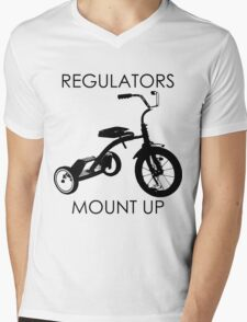 REGULATORS MOUNT UP  Mens V-Neck T-Shirt