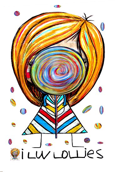 I Love Lollies by Karin  Taylor