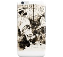 "Trace Monotype after Renoir's ""The Luncheon Of The Boating Party"" iPhone Case/Skin"