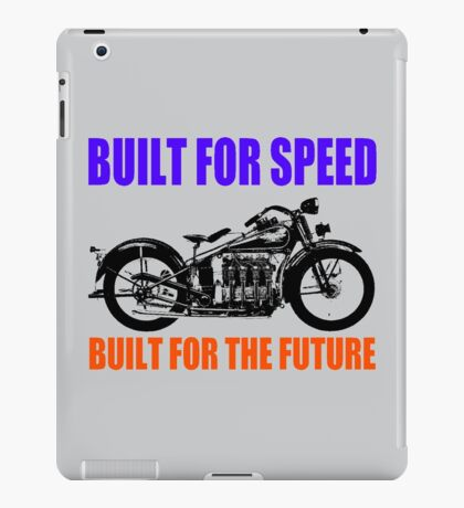 MOTORCYCLE (1930'S)-2 iPad Case/Skin