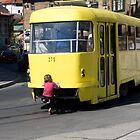 Yellow Tram by sonjas