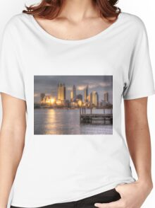 Sunset Reflections Perth WA - HDR Women's Relaxed Fit T-Shirt