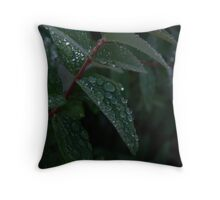 DEW DROPS Throw Pillow