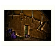 """""""The Grungy Grand Stand"""" Art Print"""