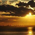 Calpe Sunset by Chris van Raay