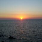 Sunset over the Arafura Sea by DropsOfLove