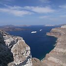 View From Santorini by Lolabud
