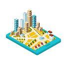 City center  by Alexzel