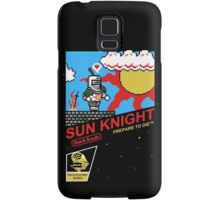 8 Bit Sun Knight Samsung Galaxy Case/Skin