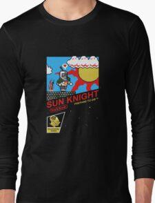 8 Bit Sun Knight Long Sleeve T-Shirt