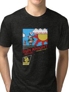 8 Bit Sun Knight Tri-blend T-Shirt